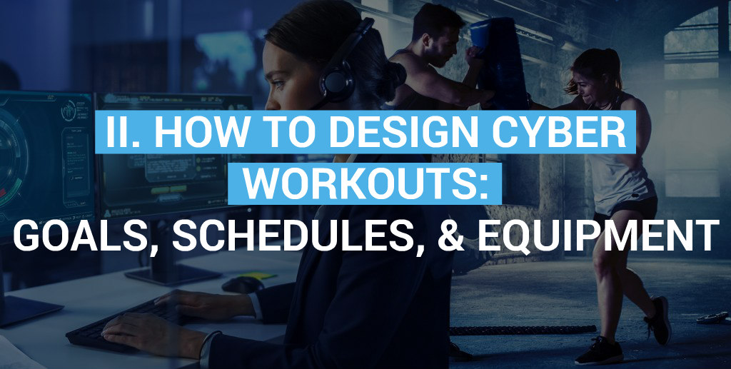 how to design cyber training plans